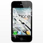 Επισκευή Oθόνης LCD και Digitizer Κρύσταλλο αφής iPhone 4