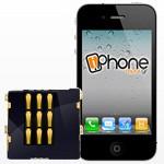 Επισκευή θήκης κάρτας SIM (SIM Reader) iPhone 4