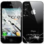 iPhone 4 Οθόνης LCD και πίσω όψη
